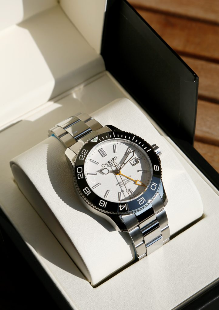 Christopher Ward C60 Trident GMT 600 C60-43-GM-SWKS-B